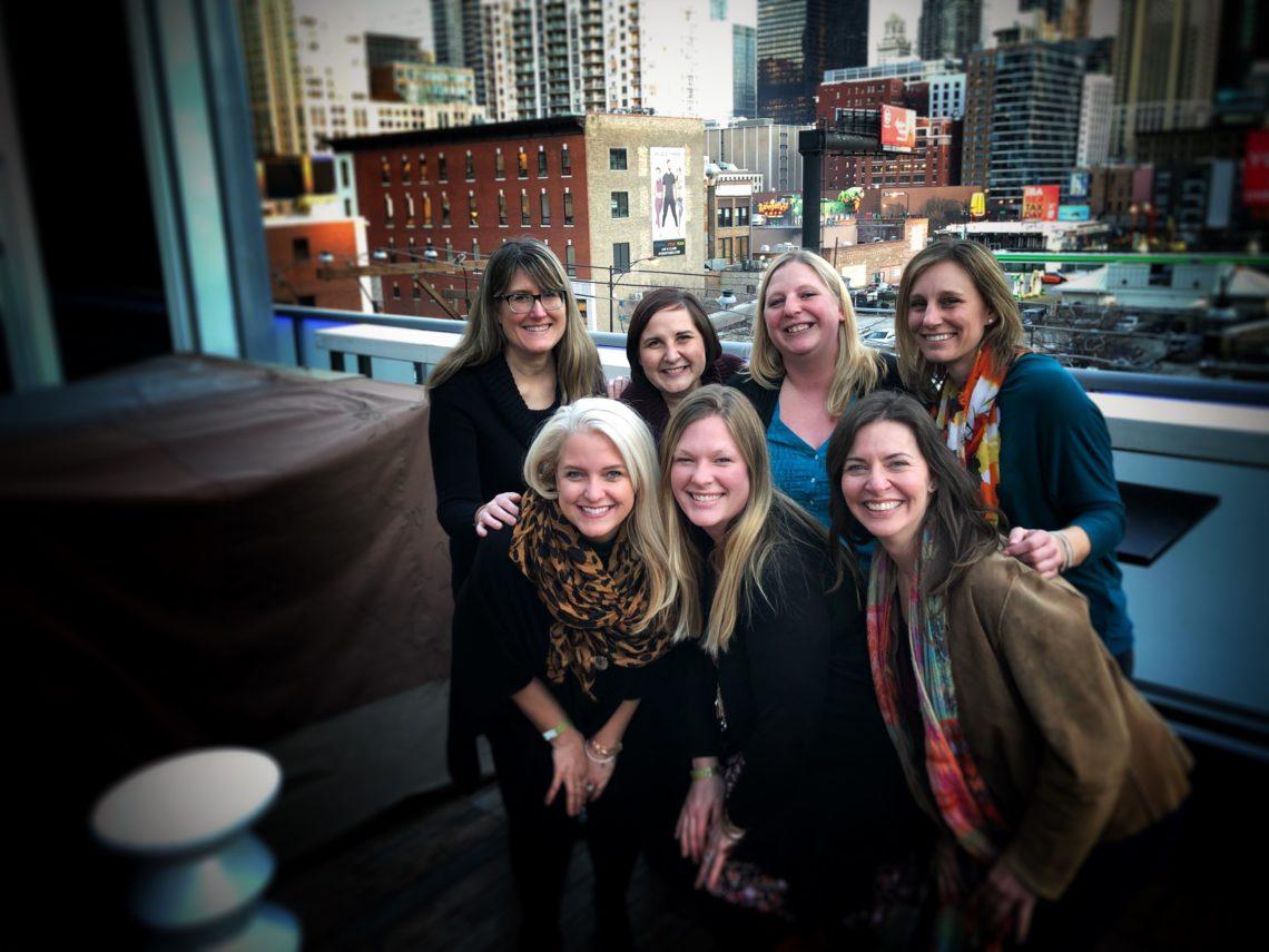Jennifer, Erin, Katie, Jill, Michelle, Colleen, Nicolle