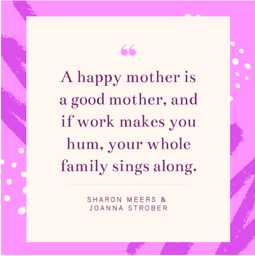 A Happy Mother Quote